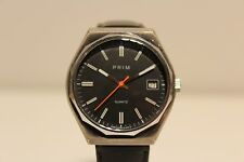 "VINTAGE RARE CLASSIC COLLECTIBLE CZECHOSLOVAKIA QUARTZ MEN'S WATCH ""PRIM"""