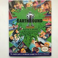 Earthbound SNES Players Strategy Guide beginnings manual book