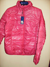 PINK Puff JACKET W/ Carry Case Pouch SZ L NEW Machine WASHABLE Lined DELUX Sale