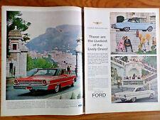 1963 1/2 Ford Super Torque Ford Sports Harfdtop Fairlane & Falcon Sprint Ad