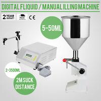Liquid Filling Machine Pump Filler Cream Shampoo Electric Liquid Filling Mahine