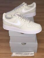 New Nike Air Force 1 Low White Light Bone Men's Size 8-10.5 Sneakers CT2302-001