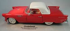 FORD THUNDERBIRD CABRIO 1955 con hard top modello di auto in 1:18 di REVELL 1990