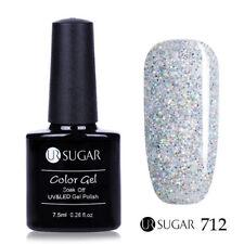 7.5ml UR SUGAR Soak Off UV Gel Nail Polish Nail Art Gel Varnish Pure Color 712