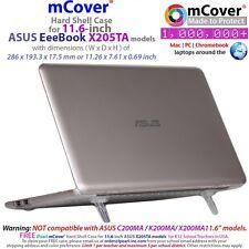 "New mCover Hard Shell Case for 11.6"" ASUS EeeBook X205TA/E200HA windows ordinateur portable"