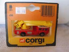 Vintage Corgi Firetruck J26 Fire Dept in the original box
