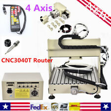 4 Axis 3040T CNC Router Engraver Engraving Milling Drilling Machine + Controller