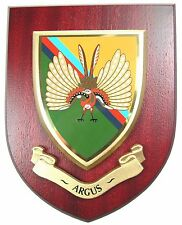 """ARGUS 14 INTELLIGENCE COMPANY """"THE DET"""" INTELLIGENCE CORPS REGIMENT WALL PLAQUE"""