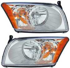 For Dodge Caliber 2007 2008 2009 2010 2011 2012 Headlights Right & Left Pair (Fits: Dodge)