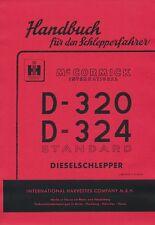 Betriebsanleitung D-320 D-324 Mc Cormick IHC D-Serie SO