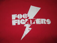 2007 Foo Fighters (Lg) T-Shirt - Red