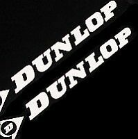 DUNLOP decal WHITE 600rr sv650 zx6rr r 6 1 zuma 3 7r zx f4i racing sticker gsxr