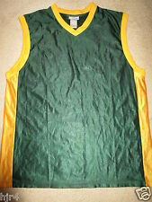 Seattle Supersonics Sonics Blank Reebok NBA Trikot XL