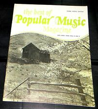 The Best Of Popular Music Magazine Apr-May 1978 Vol 6 No. 3 Piano-Vocal-Guitar