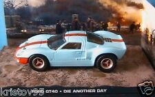 DIORAMA FORD GT 40 DIE ANOTHER DAY 1/43 JAMES BOND 007