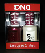 DND Daisy Soak Off Gel Polish Wanna Wine 701 LED/UV 15ml gel duo NEW
