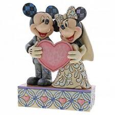 Mickey und Minnie Mouse Brautpaar Enesco Disney Sammelfigur Figurine 4059748