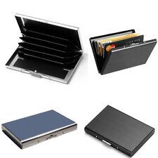 Men Stainless Steel Pocket Card Case Card Holder Wallet Money Clip Cash Slim TR