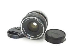 Canon FD 35mm f/3.5 Manual Focus Camera Lens