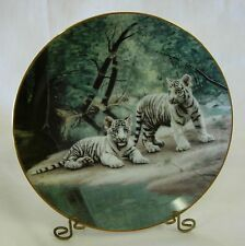 W.L. George 'Partners' Fine China Plate By Charles Frace