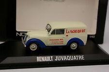Norev 1/43 - Renault Juvaquatre La Vache Qui  Rit