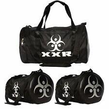 XXR Large Black Sports & Gym Duffle Holdall Bag SPORTS TRAVEL WORK