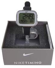 Nike Women's Imara Keeva Watch Black Silver Chronograph Alarm Watch WR0105-095