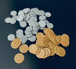 Camel Up | All 80 Egyptian Pound Coins | Official Extra/Replacement Game Pieces