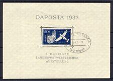 Danzig daposta BLOC 2A PFI variété Timbré (a6653