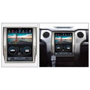 "Android 7 Tesla screen 12"" Car radio GPS Navigation for Toyota Tundra 2014-2019"