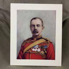 Antique Military Portrait Print Field Marshal Herbert Plumer Boer War Army 1900