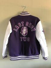 Last Orgy 2 Nowhere Undercover x A Bathing Ape letterman jacket