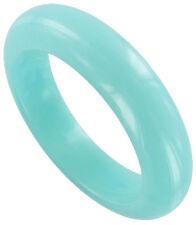 Bracelet Bangle Light Blue Moonglow Lucite New Chunky