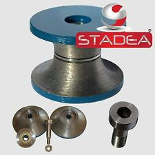 Diamond Router Bit Profile Wheel Set For Stone Full Bullnose V40 1 12 3 Pcs