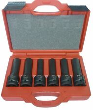 "Tool Hub 9467 3/4""Dr. Impact Socket Set 6pcs,  17mm, 19mm, E18, E20, E22, E24"
