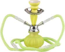 Shisha moderni acqua PIPA modello Neon piccoli lemongreen 2 tubi flessibili 23 cm