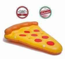 BiggerKids Original Giant Pepperoni Pizza Slice Inflatable Pool Float