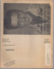 Vintage Vic Colonna ELVIS PRESLEY Advertising Catalog