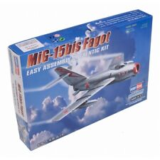 1:72 - Mig-15 Fighter Jet - Hobbyboss 172 Model Kit Scale Mig15 Diecast