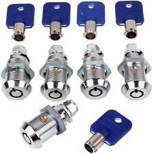 5 Locks Set Tool Box Chest Key Storage Truck Safe Arcade Machine Door Lock Kit