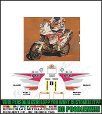 kit adesivi stickers compatibili xtz 750 super tenere 1996 orioli dakar