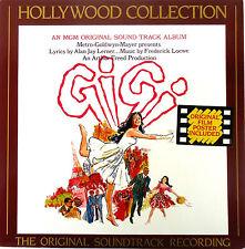 Gigi-Original Soundtrack-LP-1986 CBS Oz Reissue+Poster-Promo-HOL 4-André Previn