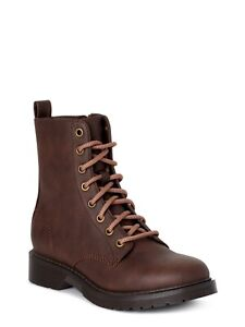 Time and Tru Women's Combat Lug Boot