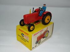 Dinky Toys No 300 is the late date Massey Harris tractor with rubber wheels VNMB