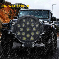 "For 4x4 Offroad Truck 6.3"" 51W Driving Lamp spotlight 1x LED Work Lights Black"