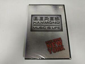 JJ11- BERES HAMMOND MUSIC OF LIFE NEW YORK DVD NUEVO PRECINTADO LIQUIDACIÓN!!