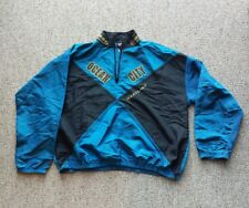 VTG Irridescent Blue Air Gear Ocean City Maryland Pullover Windbreak Jacket Coat