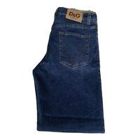 Ladies New Dolce&Gabbana Blue Jeans Button Fly Size 34 48 U.K. 12