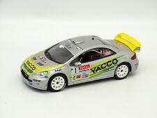 Norev SB 1/43 - PEUGEOT 307 WRC N° 1 RALLY KIM N.VOUILLOZ