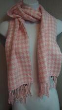 D & Y Scarf Pink & White Accessories Soft Women Fashion Scarve RN: 54976